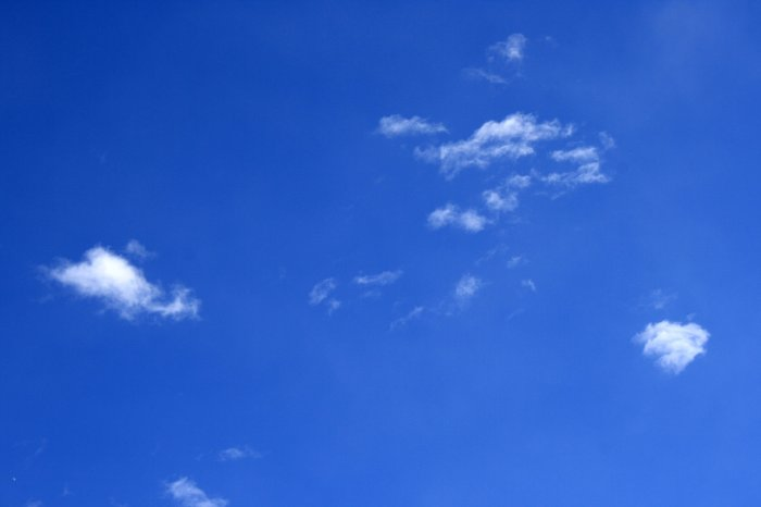bright-blue-sky-with-a-few-tiny-white-clouds-picture-free-photograph-4wqh0E-clipart